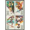 #2070a Winter Olympics, Block of Four