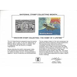#PS35 National Stamp Collecting Month, 1981