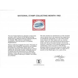 #PS40 National Stamp Collecting Month, 1982