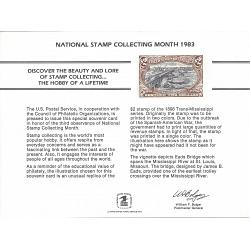 #PS48 National Stamp Collecting Month, 1983