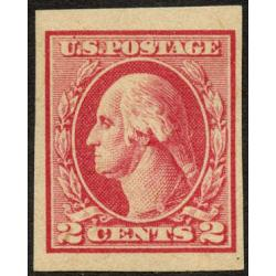#532 2¢ Washington, Carmine Rose Type IV Imperforate, LH