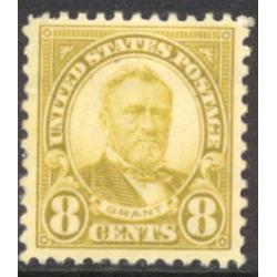 #640 Grant, 8¢ Olive Green