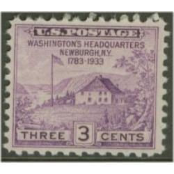 #752 Newburgh Headquarters, Perforated 10½x11