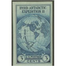 #768a Byrd Antarctic, Single Stamp