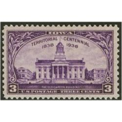 #838 Iowa Territorial Centennial - The Old Capitol Building