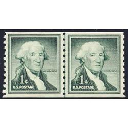 #1054 George Washington, Coil Line Pair