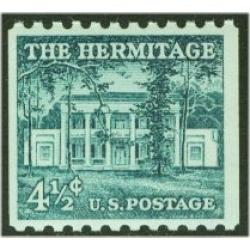 #1059 The Hermitage, Coil Stamp