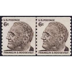 #1305 Roosevelt, Coil Line Pair