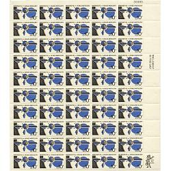 #1557 Mariner 10, Sheet of 50 Space Stamps