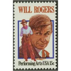 #1801 Will Rogers, Comedian & Humorist