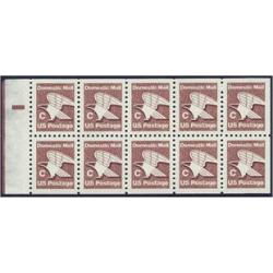 "#1948a ""C"" Stamp and Eagle, Booklet Pane of Ten"