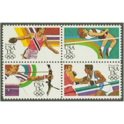 #2051a Summer  Olympics, Block of Four