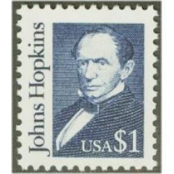 #2194b Johns Hopkins, Deep Blue, Overall Tagging, Dull Gum