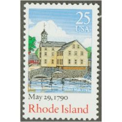 #2348 Rhode Island, Ratification of the Constitution