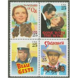 #2448a Classic Films, Block of Four