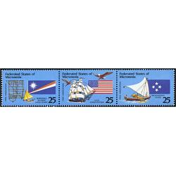 #2506a Micronesia #126a, Joint Issue