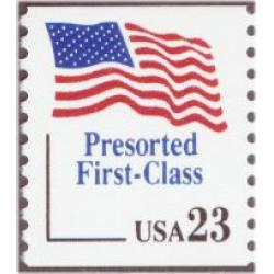 #2605 Flag, Pre-sort First Class Coil