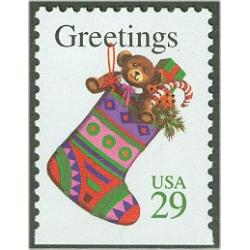 #2872v Christmas Stocking, Booklet Single
