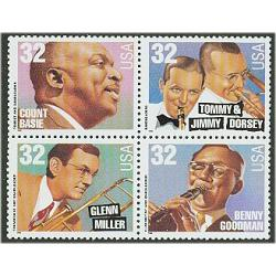 #3096-99 Big Band Leaders, Four Singles