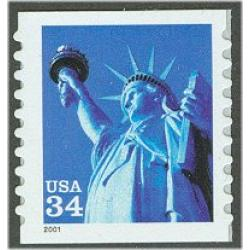 #3477 Statue of Liberty, S-A Coil