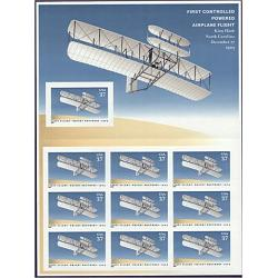 #3783 Wright Brothers First Controlled Power Flight, Booklet of