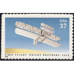 #3783 Wright Brothers First Controlled Power Flight, Single Stam