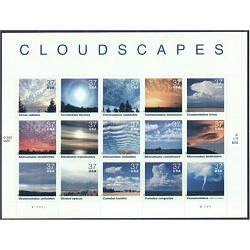 #3878 Cloudscapes, Sheet of Fifteen