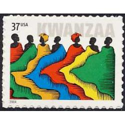 #3881 Kwanzaa (Issued in 2004)