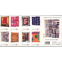 #4098b Quilts of Gee's Bend, Convertible Booklet of 20