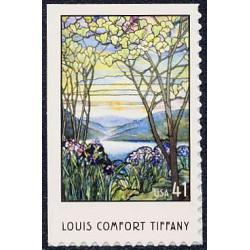 #4165 Louis Comfort Tiffany, Booklet Single, American Treasures