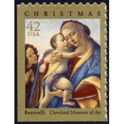 #4359 Virgin and Child, Botticelli Madonna, Booklet Single