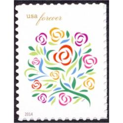 #4764a Where Dreams Blossom - Flowers, 2014 Year Date