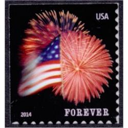 #4869 Fort McHenry Flag and Fireworks, Booklet Single (CCL)