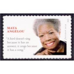 #4979 Maya Angelou, Author, Poet, Actress, Civil Rights Champion