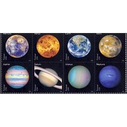 #5076a Views of Our Planets, Block of 8 Stamps