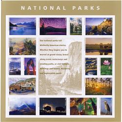 #5080 National Parks Souvenir Sheet