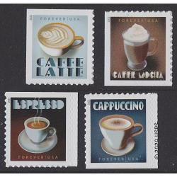 # Espresso Drinks, Set of Four Singles