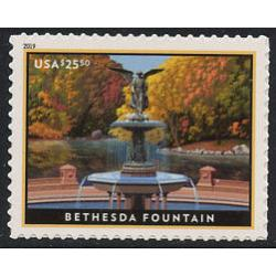 #5348 Bethesda Fountain, Priority Express Mail