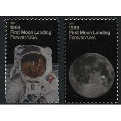 #5399-5400 Moon Land (1969), Set of Two Singles
