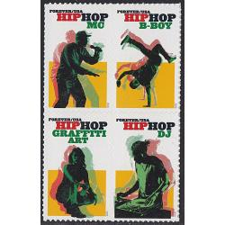#5483a Hip-Hop, Block of Four