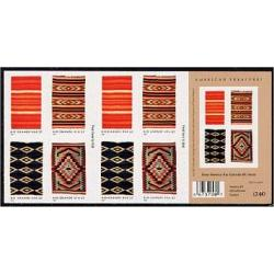 #3929b New Mexico Rio Grande Blankets, Booklet of 20
