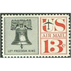 #C62a Liberty Bell 13¢, Tagged