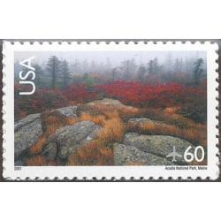 #C138a Acadia Park, Reprinted, Scenic American Landscapes Series