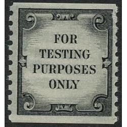 #TD107 Test Stamp, Tagged, Shiny Gum