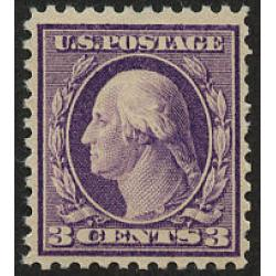 #501 3¢ Washington, Light Violet, Never Hinged