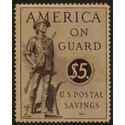 #PS15 Postal Savings Stamp, LH Thin