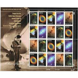 #3384-88 Hubble Space, Mint Sheet of 20 Stamps