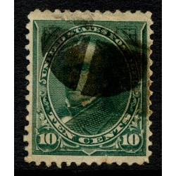 #258 10¢ Webster, Green